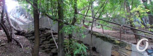На склонах под бульваром Жванецкого: жутковатая «полоса препятствий» в ожидании перемен (фото)