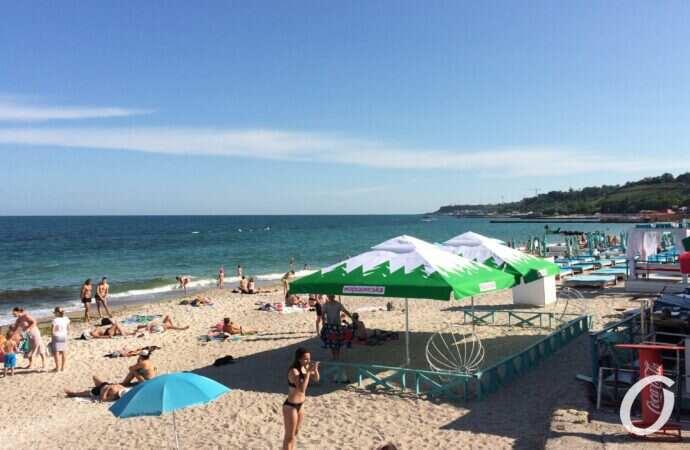 Идти ли на пляж: температура морской воды в Одессе 18 июня