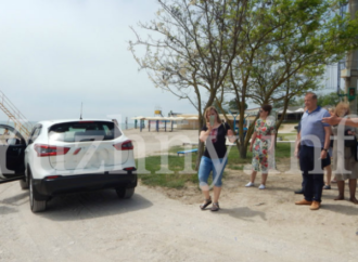 В Южном ограничат въезд на пляж