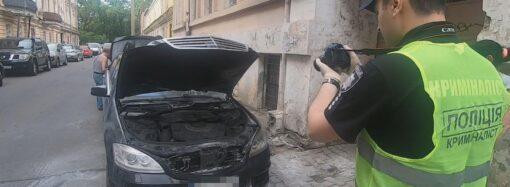 В Одесі затримали двох імовірних підпалювачів автівки відомого адвоката