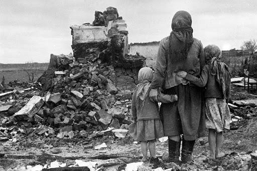 Самолеты падали в море: война глазами детей войны