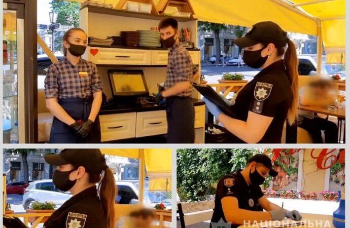 Не дотримувались карантину: як одеські поліцейські штрафували підприємців? (відео)