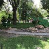 Как живет одесский парк Горького: зеленые фигуры, водопад и много роз (фото, видео)