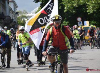 Одесские велосипедисты устроили «послекарантинный» велопробег
