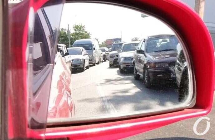 """Пробки в Одессе: утром в пятницу """"покраснели"""" несколько улиц (карта)"""
