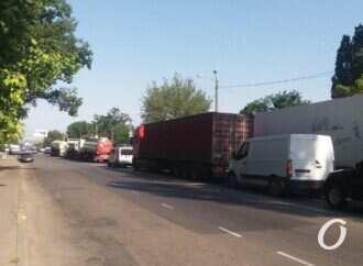 Пробки в Одессе 9 июля: поселок Котовского заблокировали 2 аварии