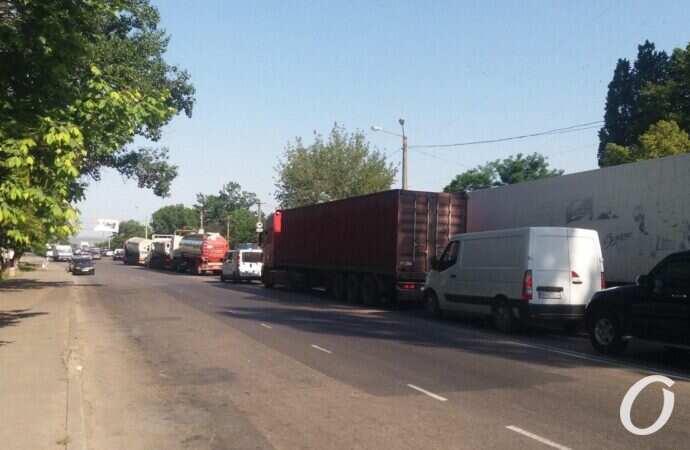 Пробки в Одессе: где затруднено движение транспорта 31 мая (карта)