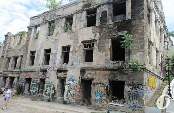 В Одессе посчитали ветхие и аварийные дома