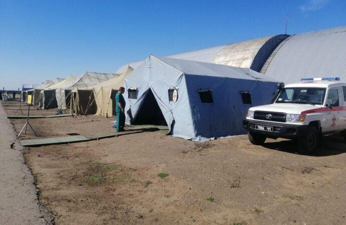 Угроза наводнения: в Одесской области развернули спасательный лагерь (фото)
