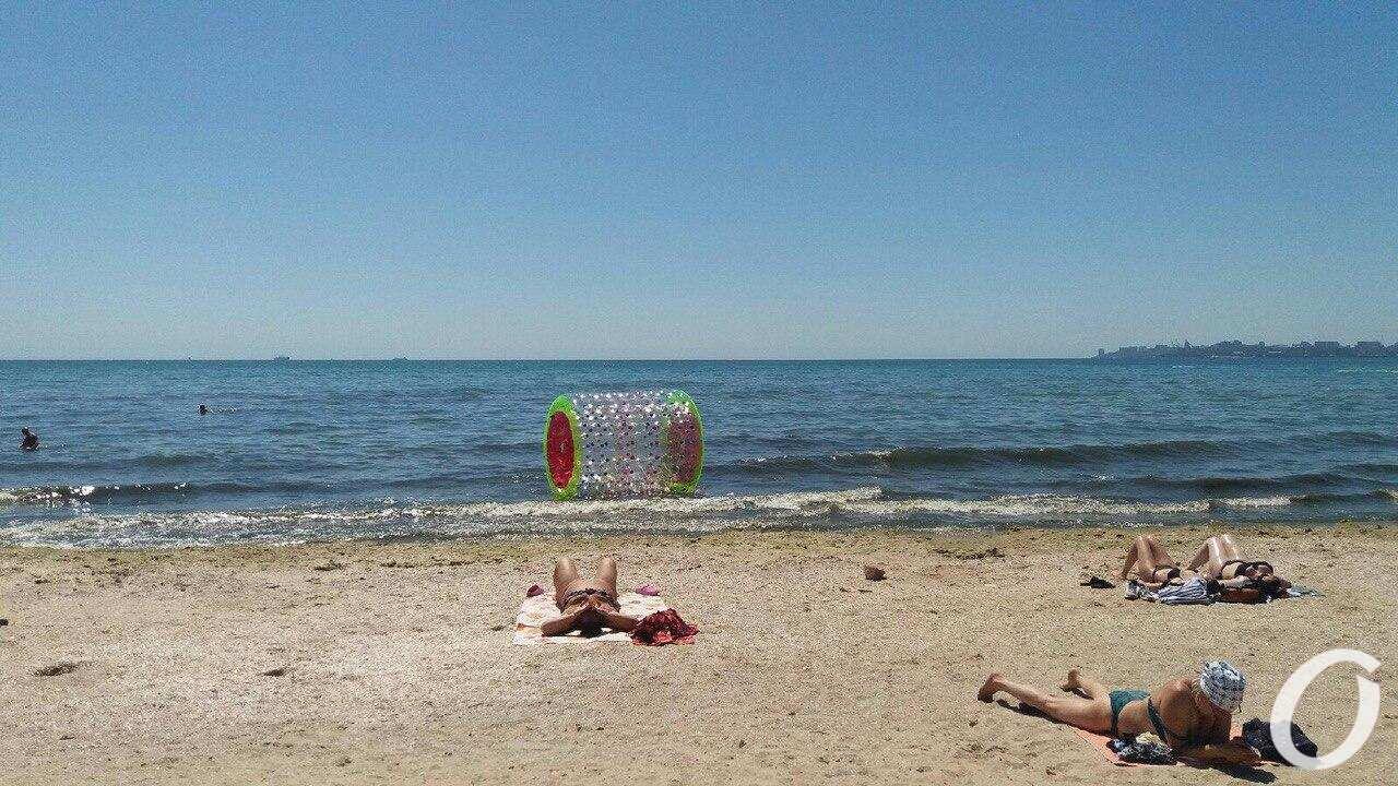 пляж Лузановка