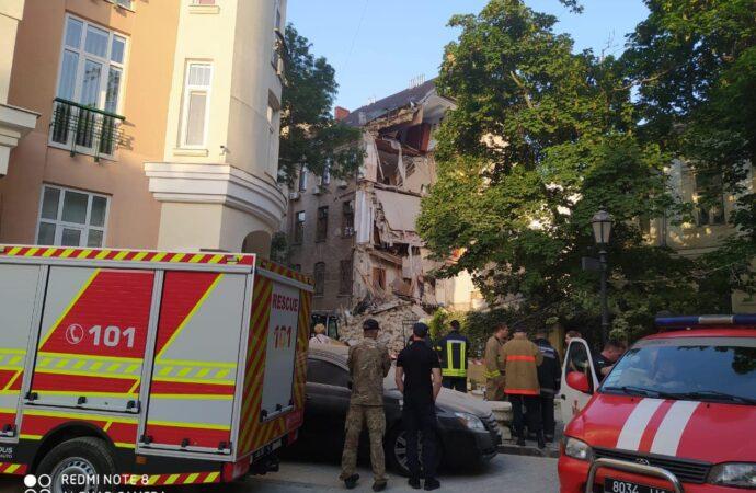 Губернатор Куцый отреагировал на разрушение дома в центре Одессы (фото, видео)