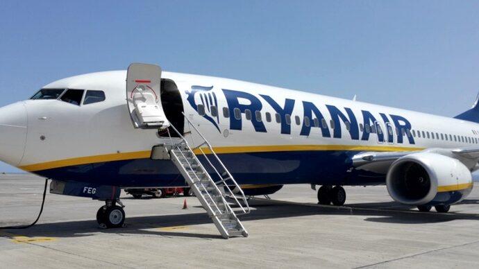 Ryanair приостановит полеты из Одессы