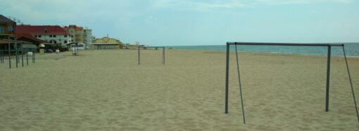 Пляжи в Затоке: чиновники и подрядчик нажились на берегоукрепительных работах