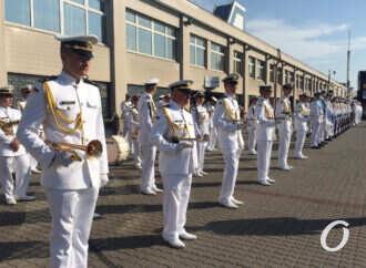 В Одессе стартовал военно-морской парад (видео, фото)
