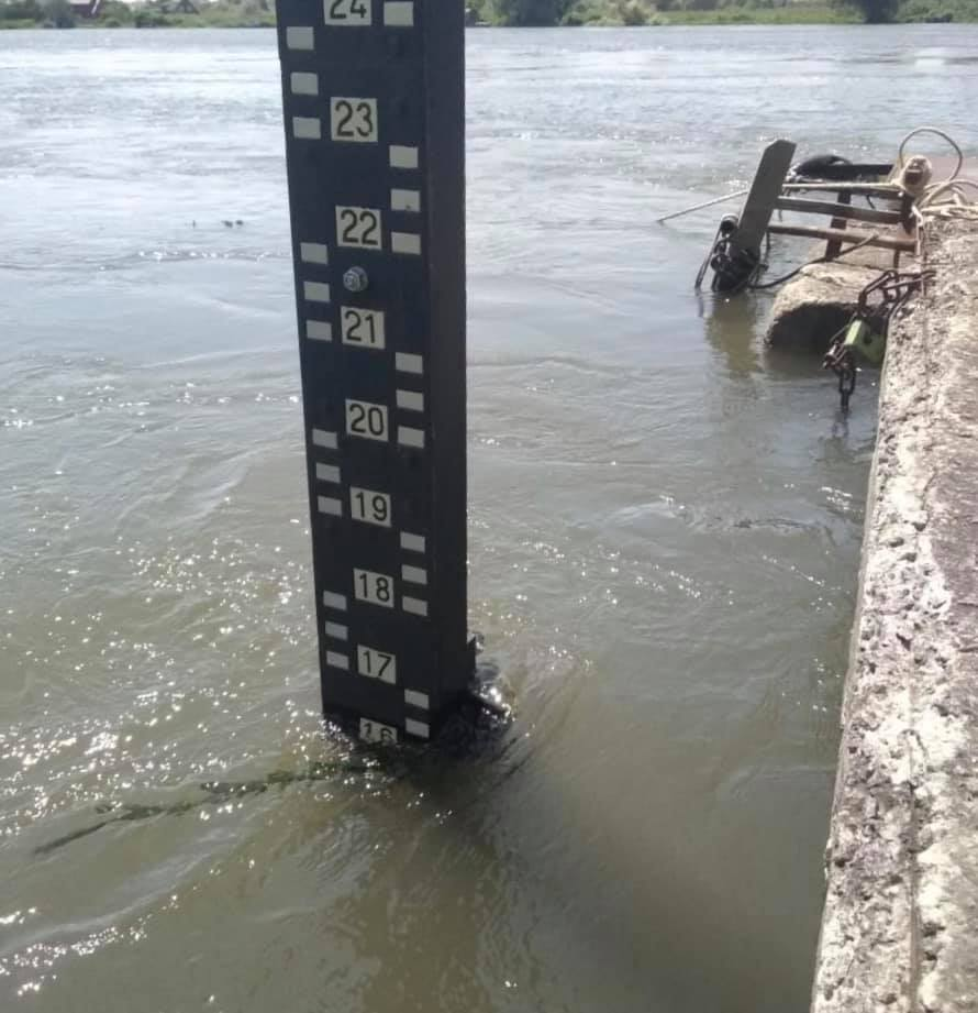 уровень воды в Днестре