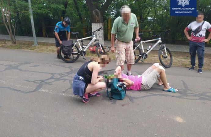 В Одесі на Трасі здоров'я травмувалися двоє водіїв електросамокатів