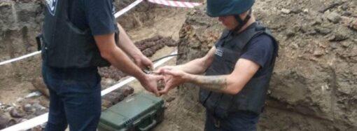 В Одесі під час будівництва виявили 265 боєприпасів часів Другої світової війни