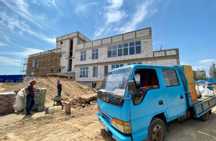 Будівництво дитячого садочку у Крижанівці: уже розпочато монтаж систем опалення та вентиляції
