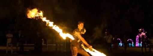 Световое шоу в Одессе: самое яркое событие лета
