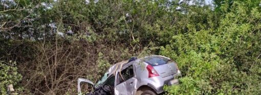 Знесло в кювет: на Одещині внаслідок ДТП постраждало двоє дітей