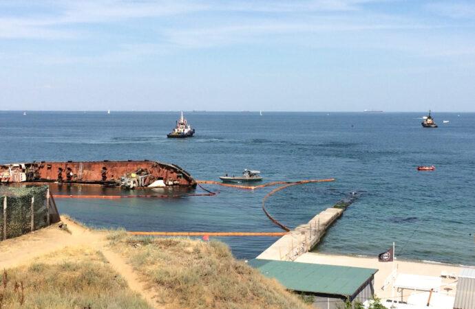 Поднять танкер Delfi могут уже в августе – министр инфраструктуры