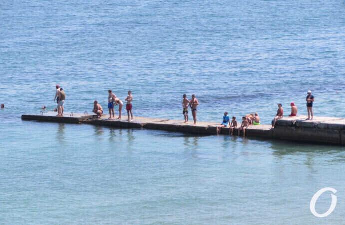 Стоит ли сегодня идти на пляж? Температура морской воды в Одессе 20 августа