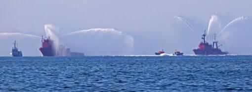 Маневры в Одесском заливе: ВМС Украины готовятся к параду для Зеленского? (фото)