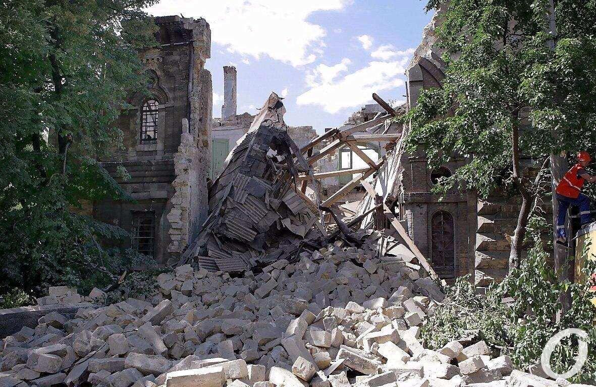 Масонский дом после обвала