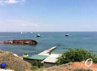 Підняття танкера «Delfi»: сьогодні судно піднімуть лише на 40°