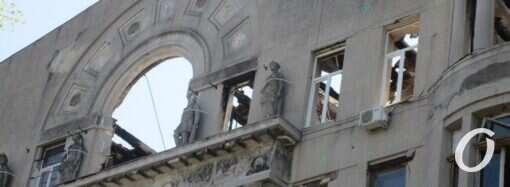 Здание горевшего колледжа на Троицкой в Одессе перешло в собственность города