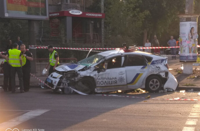 Аварии с патрульными и ребенком: чрезвычайные новости Одессы и области 30 июля
