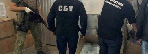 В Одесской области наладили масштабную контрабанду сигарет (фото)