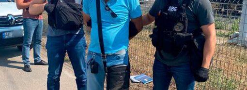В Одесской области на взятке поймали майора полиции (фото)