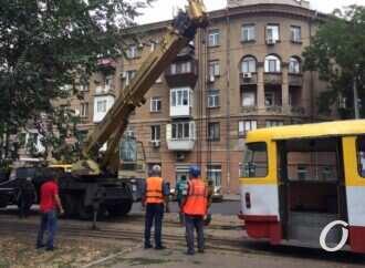 В Одесі через несправність трамвая понад дві години не курсують три трамвайні маршрути