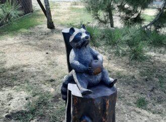 В Одеському зоопарку встановили нову фотозону