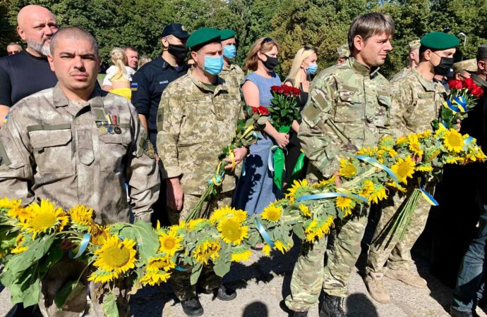 В Одесі вшанували пам'ять загиблих захисників України