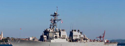 Американцы провели военные маневры в Черном море