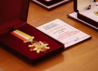 В Одесі нагородили ліквідаторів наслідків пожежі на Троїцькій