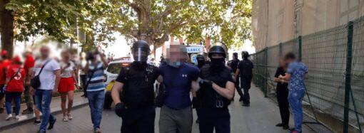 Кидали яйцями, розпилили газ: під час ЛГБТ прайду затримали 16 порушників порядку