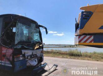 Под Одессой разбился автобус Херсон-Щецин (фото)
