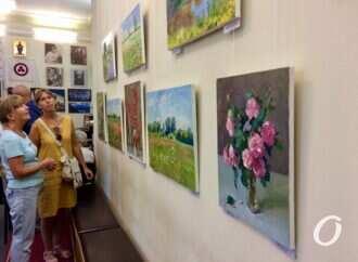 «Цвета лета»: художник из Чернигова привез в Одессу природные и городские пейзажи