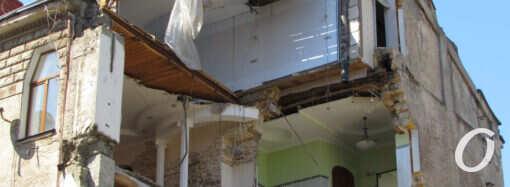 Обвал на Ясній, 10: аварійну стіну демонтують, а сам будинок законсервують