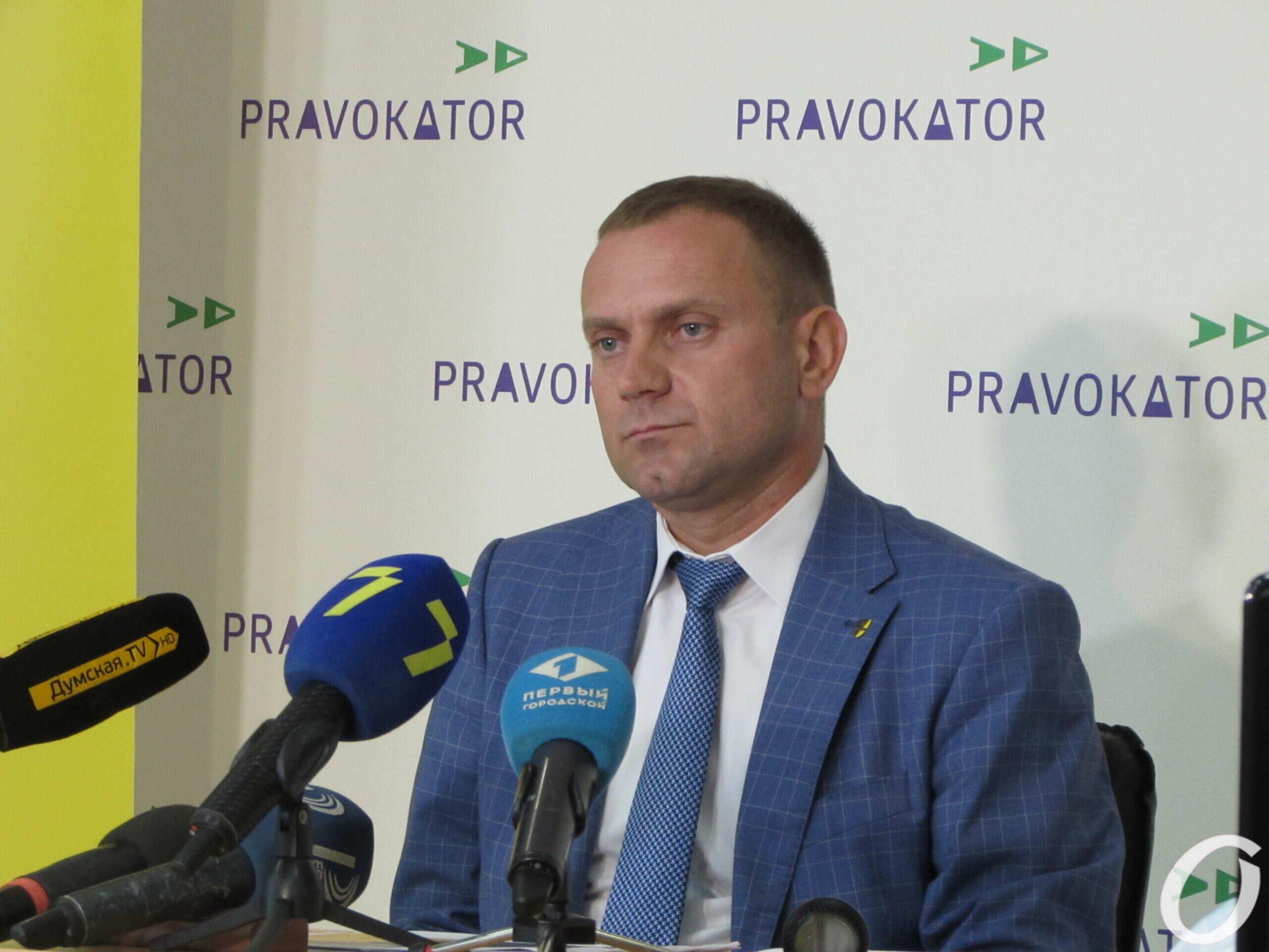 директор Одесского территориального управления НАБУ Владимир Деулин