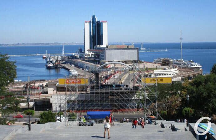 День города Одесса 2020: Морвокзал превратят в сцену, Потемкинская лестница станет зрительным залом