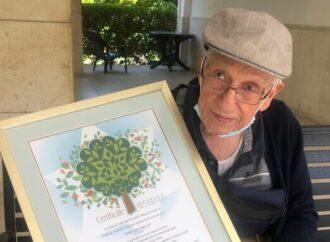 В Иерусалиме высадили сотню деревьев в честь уроженца Одессы