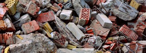 Куда в Одессе вывозить строительный и крупногабаритный мусор?