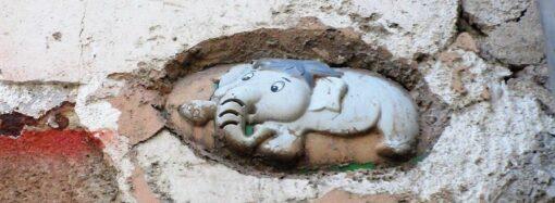 Слог «над» и слоненок на фасаде: одесские мастера восстановят еще одну старинную вывеску