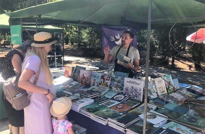 Зеленая волна-2020: в парк им. Т.Г.Шевченко поспешили книголюбы и книгочеи