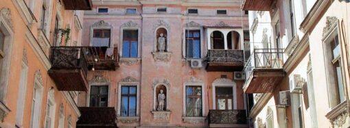 Дом на Нежинской: скульптуры в нишах и множество загадок