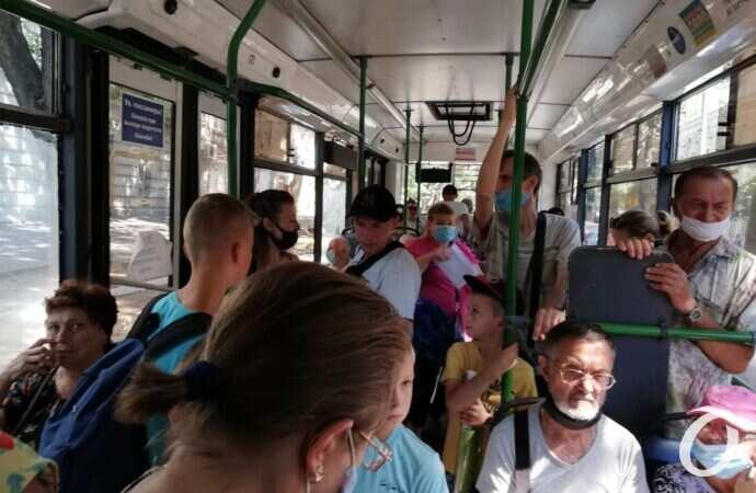 Карантин в Одессе: страшно ездить в общественном транспорте